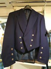 Bleu Marine Prince Charlie Veste /& Gilet Gilet Set 100/% laine