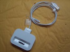 Apple iPhone 4/4S Dock Sync Station J3  MC596ZM/B Charger 4 4S WITH USB CABLE