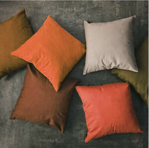 Tailor Made*COVER*Fine Sheet 100%Cotton Pillow Cushion Cover Thow Floor sofa bed