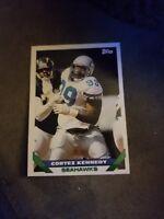 1993 Topps Football Card #205 Cortez Kennedy (Seahawks)