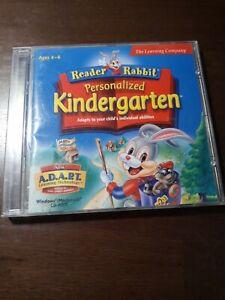 Reader Rabbit Personalized Kindergarten Disc 2 PC cd ROM