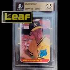 1987 Leaf Mark McGwire BGS 9.5 #46