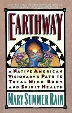 MARY SUMMER RAIN Earthway paperback *FREE SHIPPING* Native American Visionary