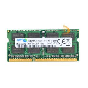 Samsung 8GB DDR3 2RX8 PC3L-12800S 1600MHz 1,35V SODIMM RAM Laptop-Speicher 8 GB