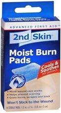 2nd Skin Moist Burn Pads 1.5 Inches X 2 Inches 6 Each