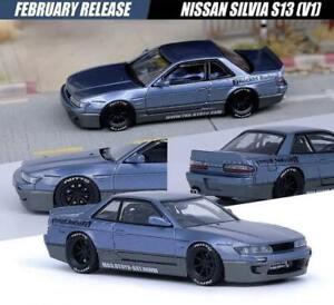 INNO64 1:64 Pandem Rocket Bunny Nissan Silvia S13 V1 Grey