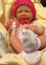 NEW~ Precious Preemie Berenguer La Newborn Doll + Extras INCLUDES BOTTLE PACI ++