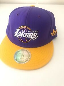 NBA Los Angeles Lakers Adidas Special Edition 16x World Champions RARE Hat Cap