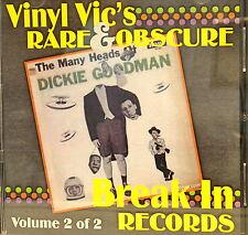 VINYL VIC'S 'Rare & Obscure BREAK IN Records' - Vol# 2 - 25 VA Tracks