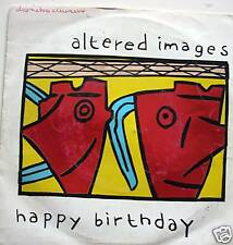 "7"" 80s GOLD! ALTERED IMAGES : Happy Birthday // VG++ \"
