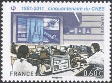 France 2011 CNES/Control Room/Space/Rocket Launch/Satellite/Radio 1v (n45568}