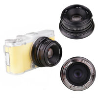 New Fujian 35mm f/1.6 Mini II lens for Fujifilm Fuji X-mount Camera X-A1 XE2 XT1