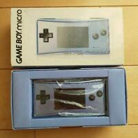 Nintendo Game Boy Micro Famicom Console Red/Gold Japan Gameboy 16