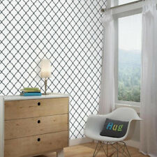 Modern Trellis Peel & Stick Wall Decor & DIY project decal sticker wallpaper