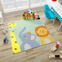 Giraffe Baby High Chair Floor Mat Washable Splat Mat Mess Floor Protector 130cm
