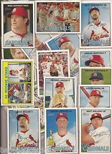2016 Topps Heritage St. Louis Cardinals 23 Card Master Teams Set & SPs & Inserts