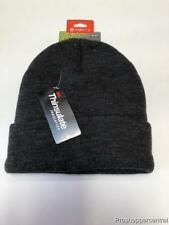 Tek Gear Warm Tek Knit Watch Beanie Hat w/3M Thinsulate, Dark Gray, One Size