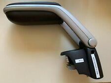 OEM 07-13 Mini Cooper S Center Armrest Console Cupholder Black Silver With Trim