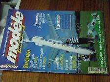 6µ?§ Revue Modele magazine n°587 Plan encarté Martin Becker MB-3 / Stylus K'Max