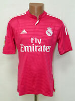 REAL MADRID SPAIN 2014/2015 AWAY FOOTBALL SHIRT JERSEY ADIDAS SIZE S ADULT