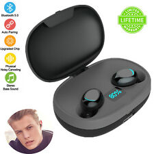 Wireless Earphone Binaural Bluetooth Earbuds TWS 5.0 Headset For Samsung S10 S9
