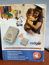 Rodger wireless bedwetting alarm system Child Size 116 As Is A1C