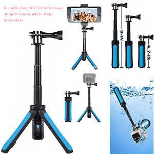 Mini Selfie Stick Tripod for GoPro Hero 8/7/5/4/3+ Xiaoyi 4K Camera Accessories