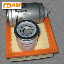 SERVICE KIT VAUXHALL CORSA B 1.7 D FRAM OIL AIR FUEL FILTERS (1996-2000)