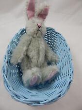 "World Of Miniature Bears Dollhouse Miniature 5"" Easter Bunny Rabbit #5070GB"