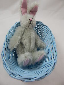 "World Of Miniature Bears Dollhouse Miniature 5"" Easter Bunny Rabbit #5070GB"