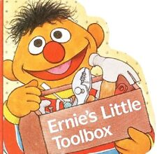 Ernie's Little Toolbox 1991 Brand New Chunky Board Book Sesame Street WD10949