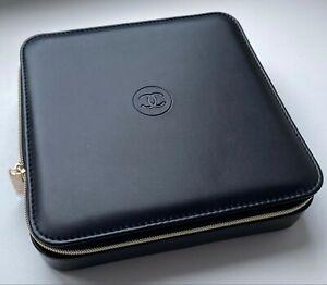 CHANEL COSMETIC/MAKEUP BAG BOX BLACK LOGO BIG SUBLIMAGE VERY RARE VIP GIFT