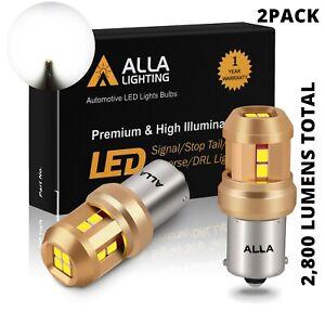LED White 1156 Back Up Light Bulbs Reverse Lamps for GMC ,Heavy Duty Aluminum