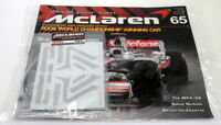 Kyosho Kits 1/8 scale Diecast 065 McLaren MP4-23 F1 Magazine subscription part