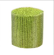 """Latch Hook Yarn - Pistachio 400 strands 3ply 2.5"""" long. Use on 4.5hpi canvas"""