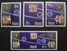 Christmas stamps,1978, Angels, folk, Malta, SG ref: 611-614, 4 stamp set, MNH