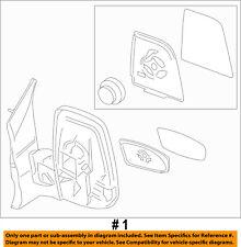 FORD OEM 15-18 Transit-350 FRONT DOOR-Mirror Assembly Left EK4Z17683DB