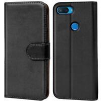 Book Case für Xiaomi Mi 8 Lite Hülle Tasche Flip Cover Handy Schutz Hülle