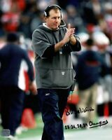 Bill Belichick signed autographed 8x10 photo! AMCo! 14095