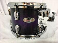 "Pearl Reference 10"" Diameter  X 8"" Deep Mounted Tom/Purple Sparkle Burst/#396"