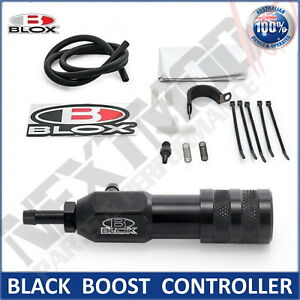 BLOX BLACK Manual Boost Controller Adjustable Boost Tee Turbo Supercharged MBC