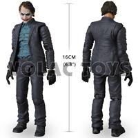 "6"" MAFEX 1:12 Scale Joker Batman The Dark Knight  Action Figure Collect"