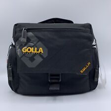 Golla Pro G778 DSLR SLR Camera Shoulder Bag Black Yellow Large NWT Retail $60