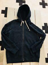 Men's Polo Ralph Lauren Classic Full-Zip Fleece Sport Hoodie XL GREY WORN ONCE