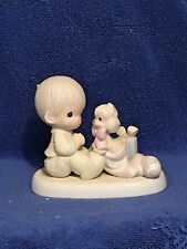 IOB 1987 Precious Moments Figurine-The Greatest Gift is a Friend - Item #109231