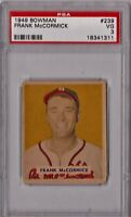 1949 Bowman Frank McCormick #239 PSA 3 P744