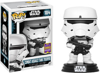 SDCC Exclusive STAR WARS Combat Assault Tank Trooper FUNKO Pop Vinyl NEW in Box
