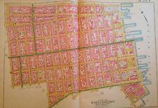 1891 E. Robinson Lower East Side East Village Manhattan Orig Map Atlas 23X32