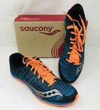 Saucony Men's Kilkenny Spikes Running Shoes S29022-1 Blue/Orange, Pick A Size