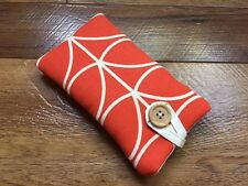 HANDMADE IPHONE 5 5s 5c SE CASE MADE IN ORLA KIELY TOMATO LINEAR STEM FABRIC